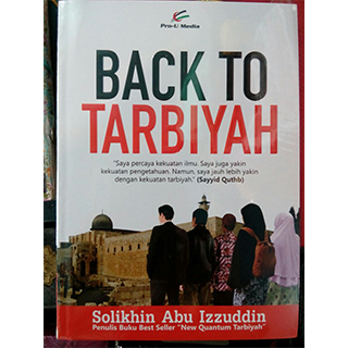 Buku back to Tarbiyah