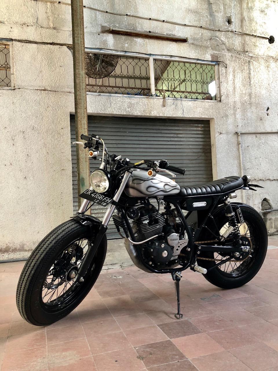 Street Tracker Custom Yamaha Scorpio