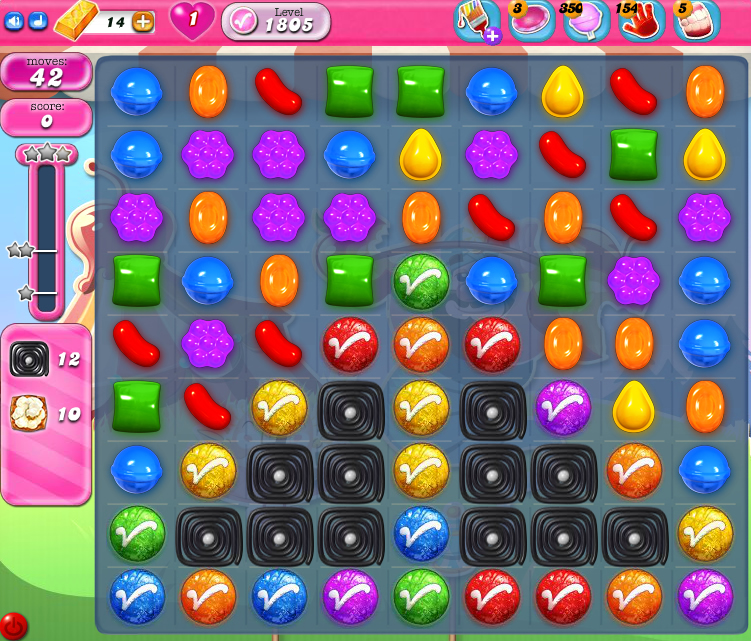Candy Crush Saga 1805