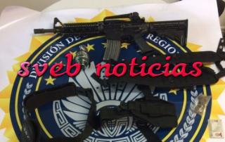 Caen 4 sujetos con armas en Rio Blanco Veracruz