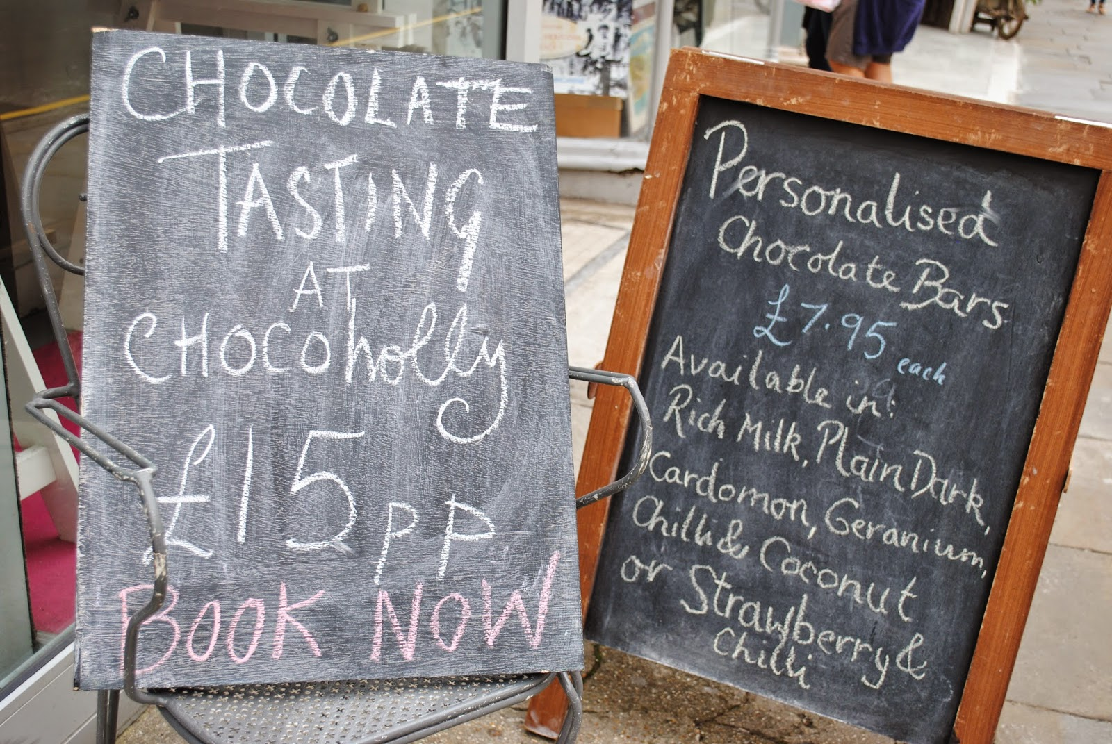 ChocoHolly chocolate tasting at The Chocolate Workshop Hove