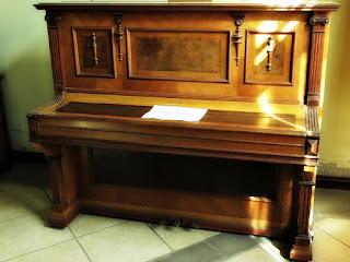 Piano Alemão de 1925 - Museu Histórico, Montenegro