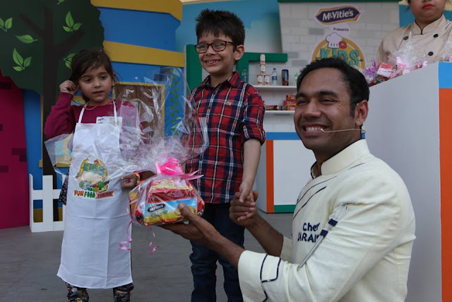 winner of a contest with celebrity chef Saransh Goila-