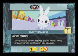 My Little Pony Bunny Breakout Premiere CCG Card
