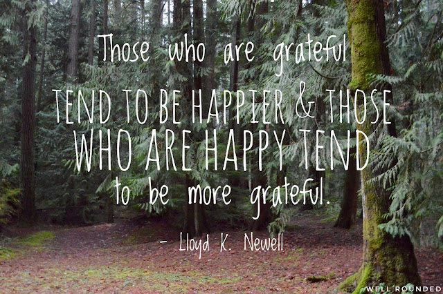 Those who are grateful tend to be happier and those who are happy tend to be more grateful - Lloyd K. Newell