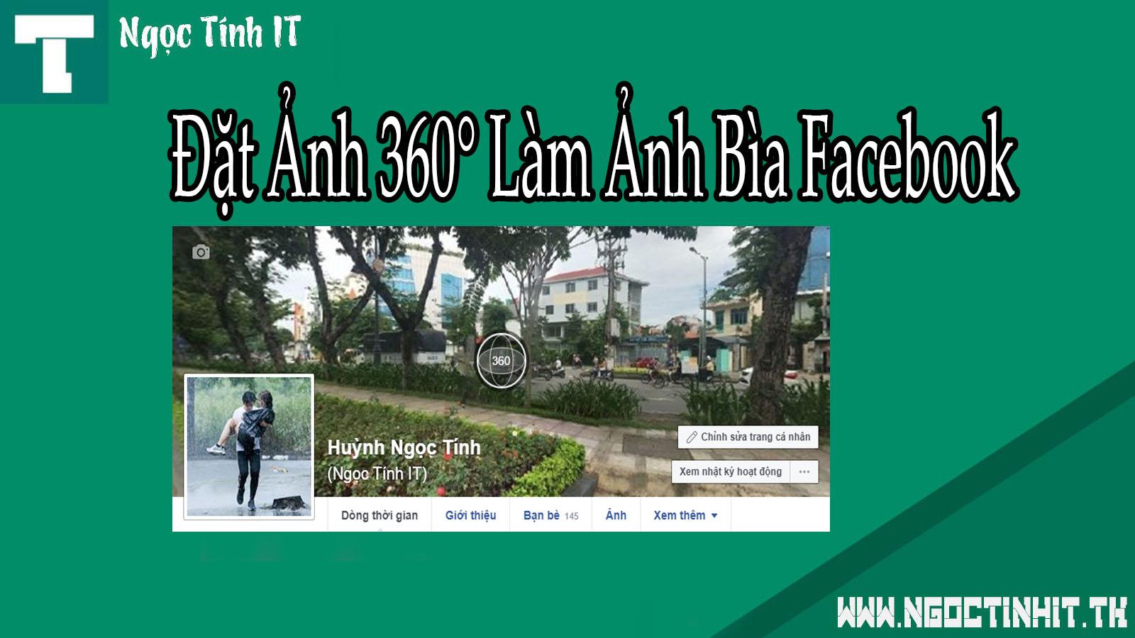 ĐẶT ẢNH 360° LÀM ẢNH BÌA FACEBOOK