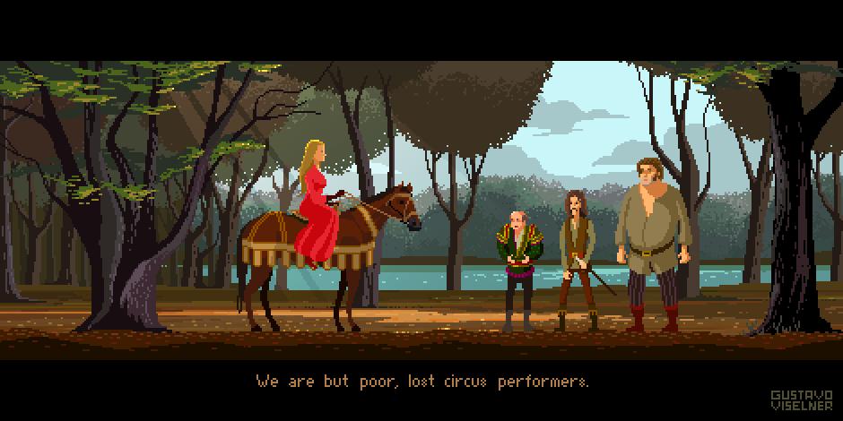 La Princesa Prometida -  Pixel Art