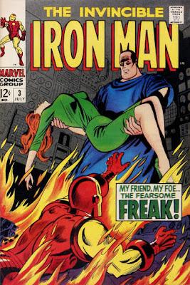 Iron Man #3, the Freak is back