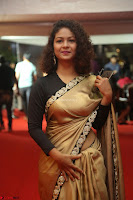 Aditi Myakal look super cute in saree at Mirchi Music Awards South 2017 ~  Exclusive Celebrities Galleries 022.JPG
