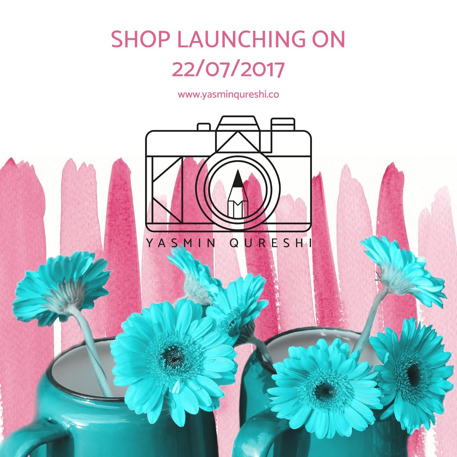Yasmin Qureshi print shop launch