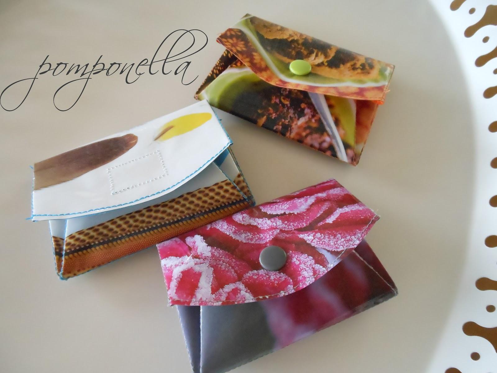 Pomponella: Papier-Portemonnaie