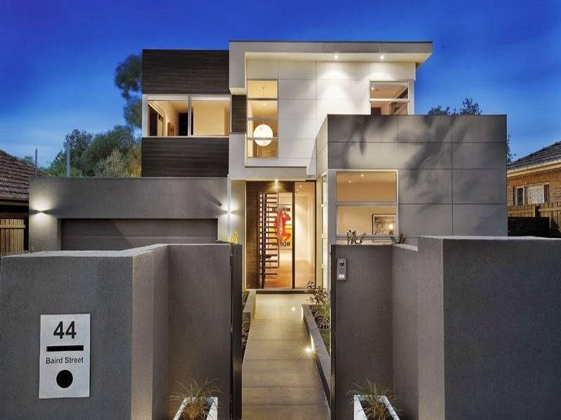Hogares frescos 10 fachadas de casas modernas c lidas e for Techos modernos exterior