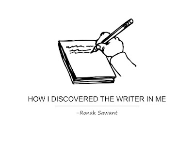 Cover Photo: How I Discovered The Writer In Me - Ronak Sawant