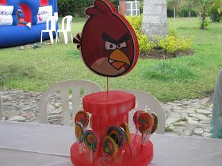 FIESTA TEMATICA ANGRY BIRDS MEDELLIN