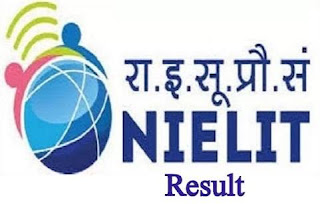 NIELIT CCC BCC Exam Result May June 2018