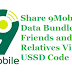 How To Share 9Mobile Data Bundle with Friends and Relatives Via USSD Code