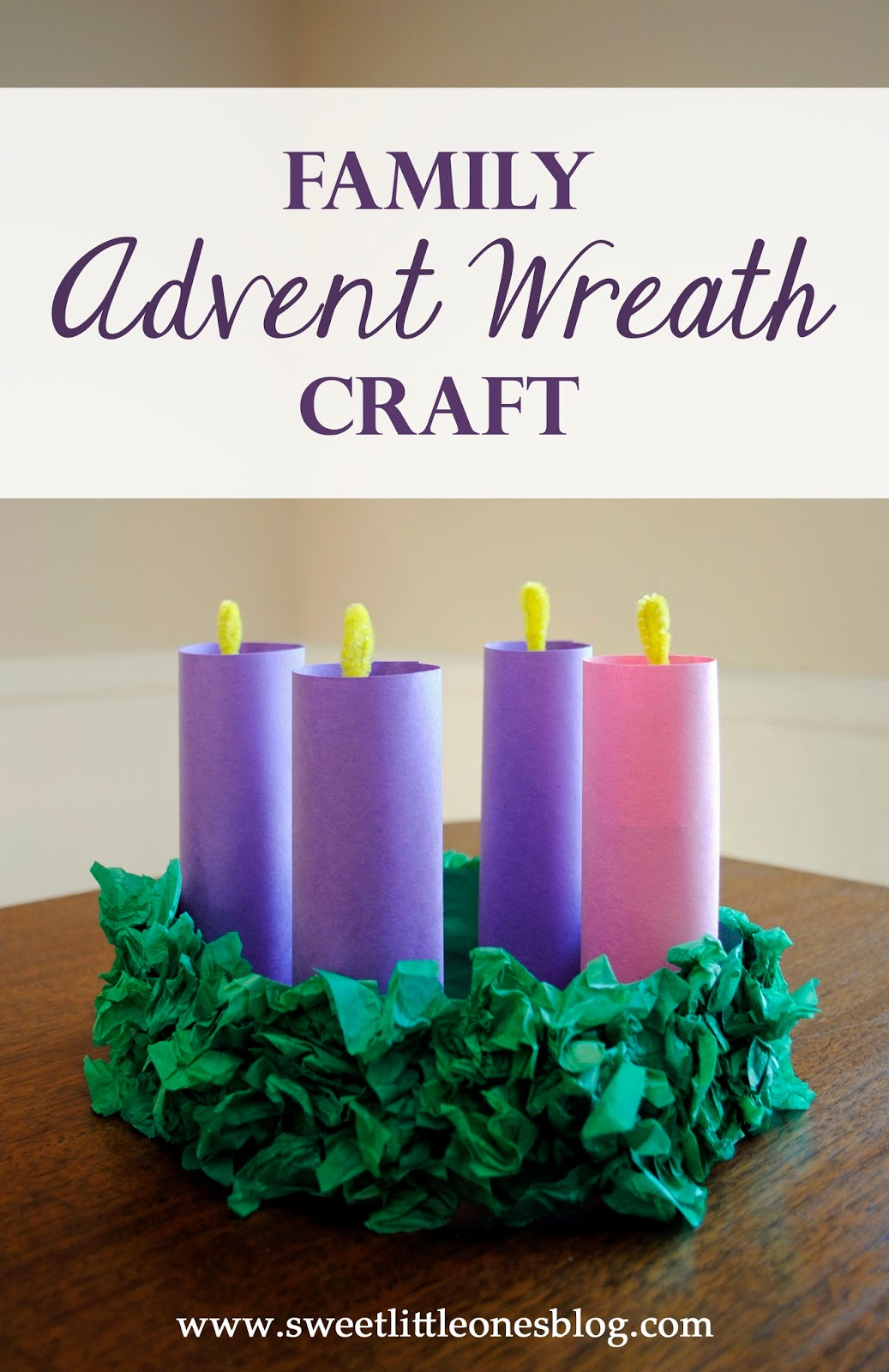 It is a photo of Stupendous Advent Wreath Printable