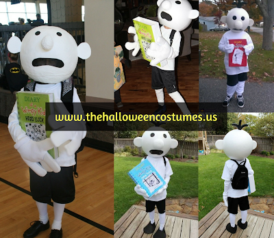 Diary of a Wimpy Kid Halloween Costume for kids 2016