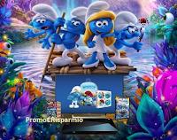 Logo Con i PopCorn Popz vinci premi ''Puffosi'', TV, DVD e lettore Blu-Ray