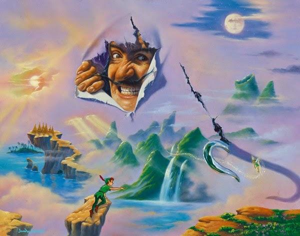 Surpresa - Jim Warren pinta sonhos e ilusões de maneira fantástica.