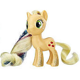 MLP Party Friends Applejack Brushable Pony