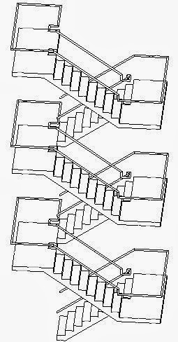 how to draw stairs in revit