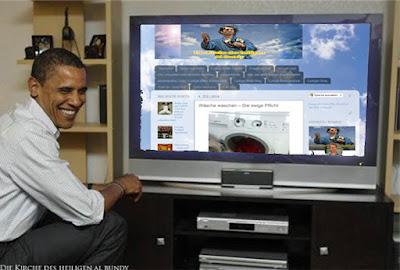 Lustige Bilder und witzige Texte - Obama und Kirche