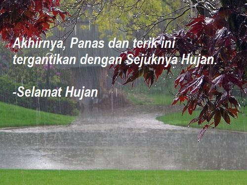 Kata Kata Bersyukur Saat Hujan Turun