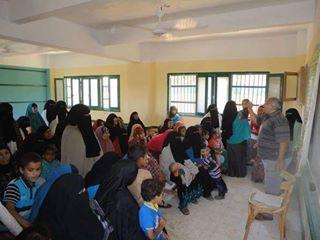 بالصور صحة الفيوم قافلة طبية مجانية بقرية المحمودية باطسا