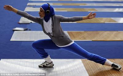 Hijab sport womens sport women in sport Muslim
