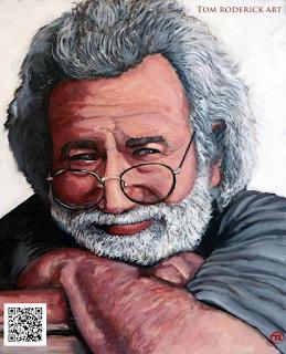 Captain Trips by Boulder portrait artist Tom Roderick