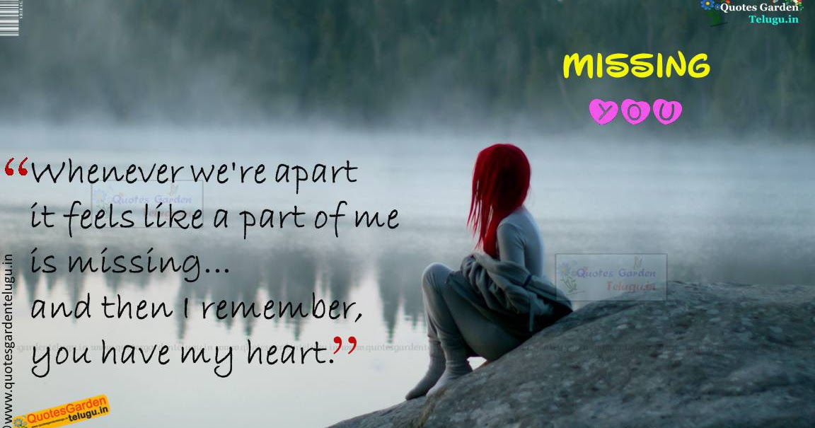 Best Love Proposals-Missing You Heart Touching Quotes 979