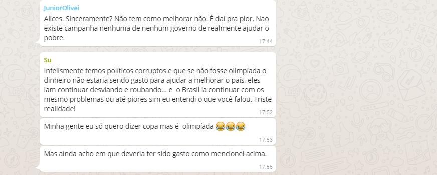 Rio 2016: Olimpíada atrapalha ou ajuda o Brasil? Participe do Debate no WhatsApp Blog Fala Berenice