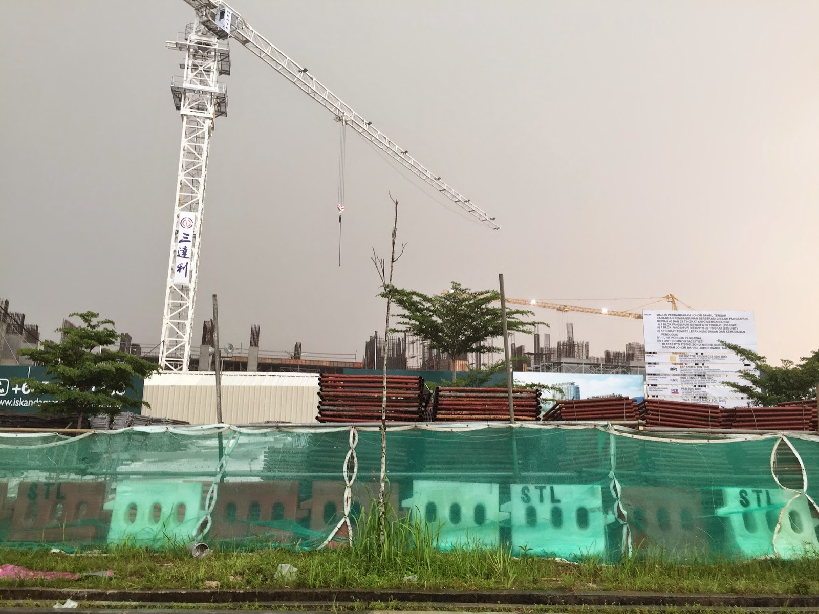 Iskandar Residences Site Progress