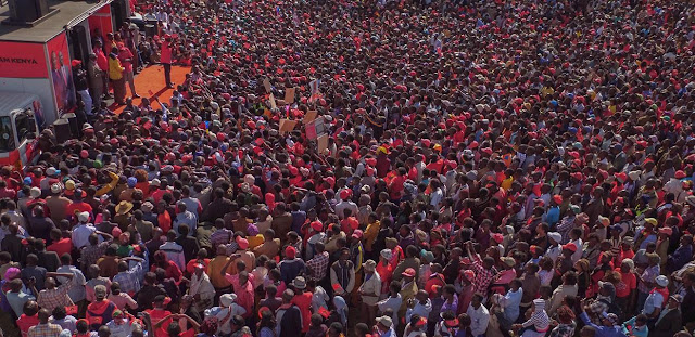 Jubilee in Meru. PHOTO | Courtesy