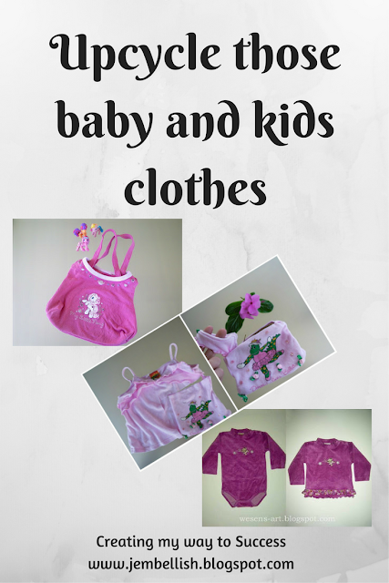 Upcycling Baby and Kids clothes