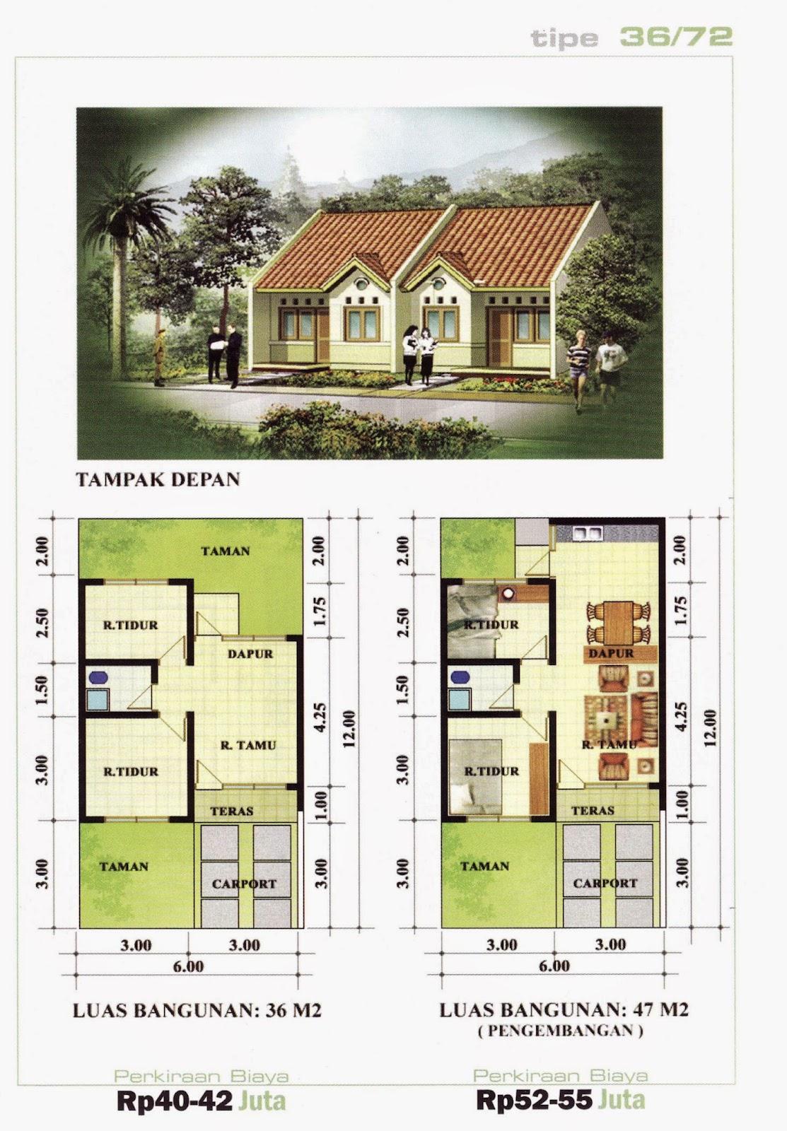 Kumpulan Desain Rumah Minimalis Dan Denah Nya Kumpulan Desain Rumah