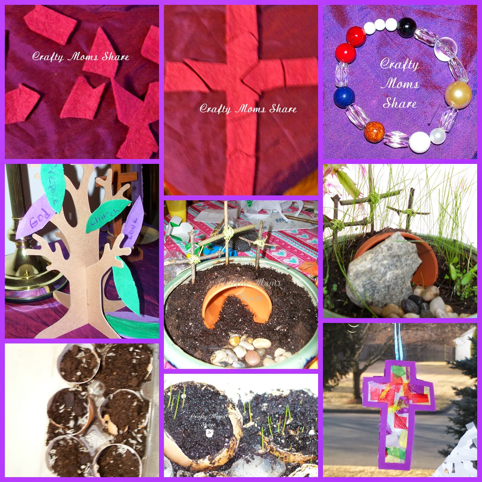 Crafty Moms Share Lent Craft Amp Activity Round Up Amp Meatless Recipes For Ash Wednesday