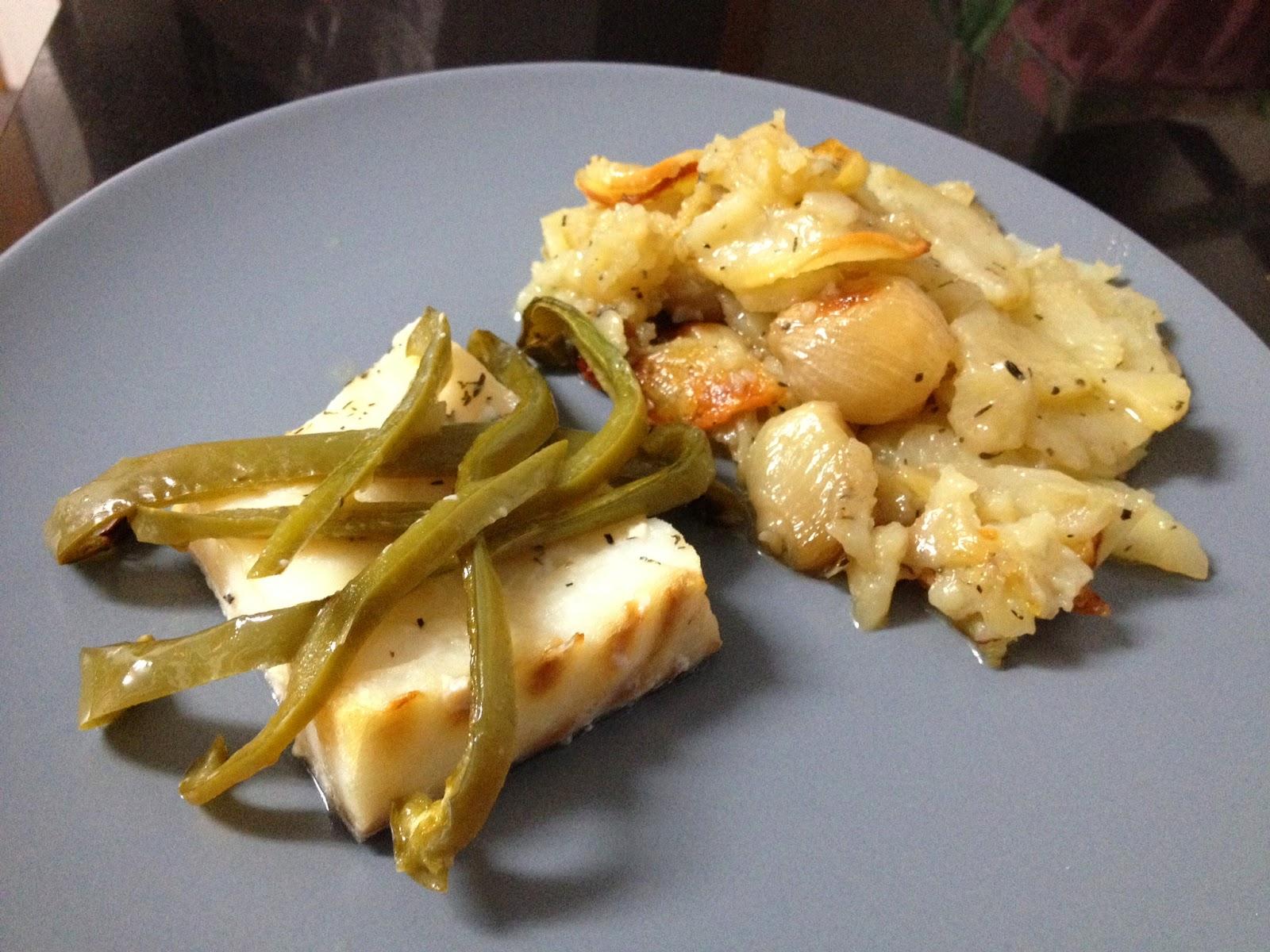 Cocina con rachel bacalao con patatas y pimiento al horno - Racholas cocina ...