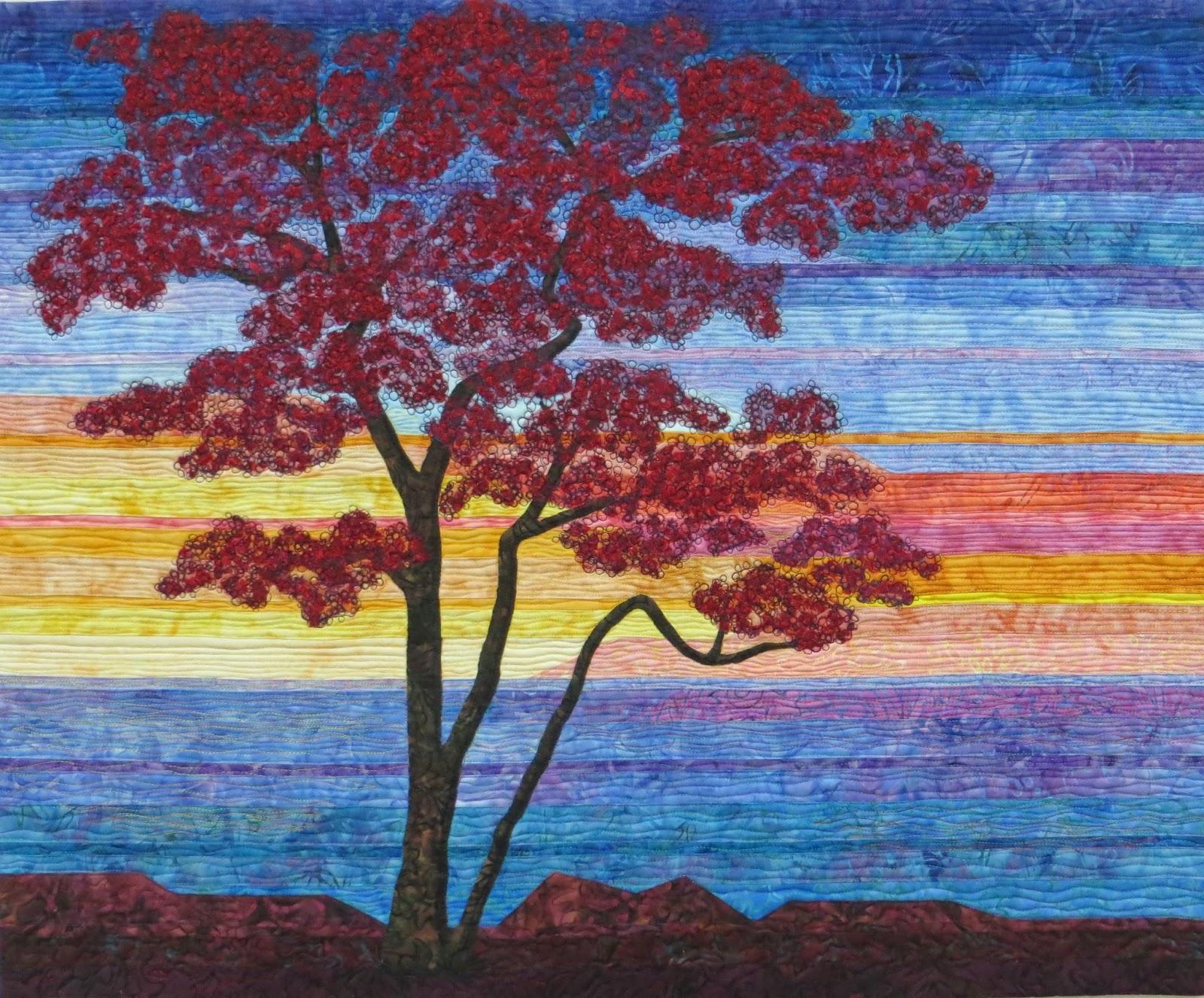 Landscape Quilt Patterns Magnificent Inspiration Design