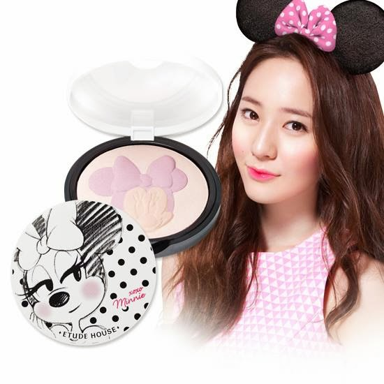 disney, etude minnie, xoxo minnie etude, jual etude murah, jual etude, highlighter, highlighter etude, review etude