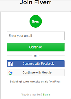 How to open a fiverr account