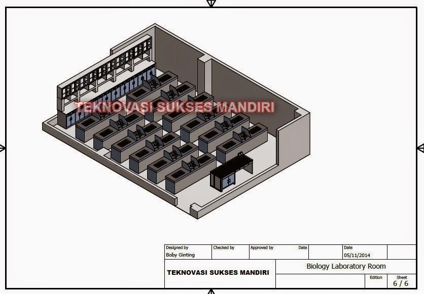 perabot  laboratorium sekolah - laboratorium biologi