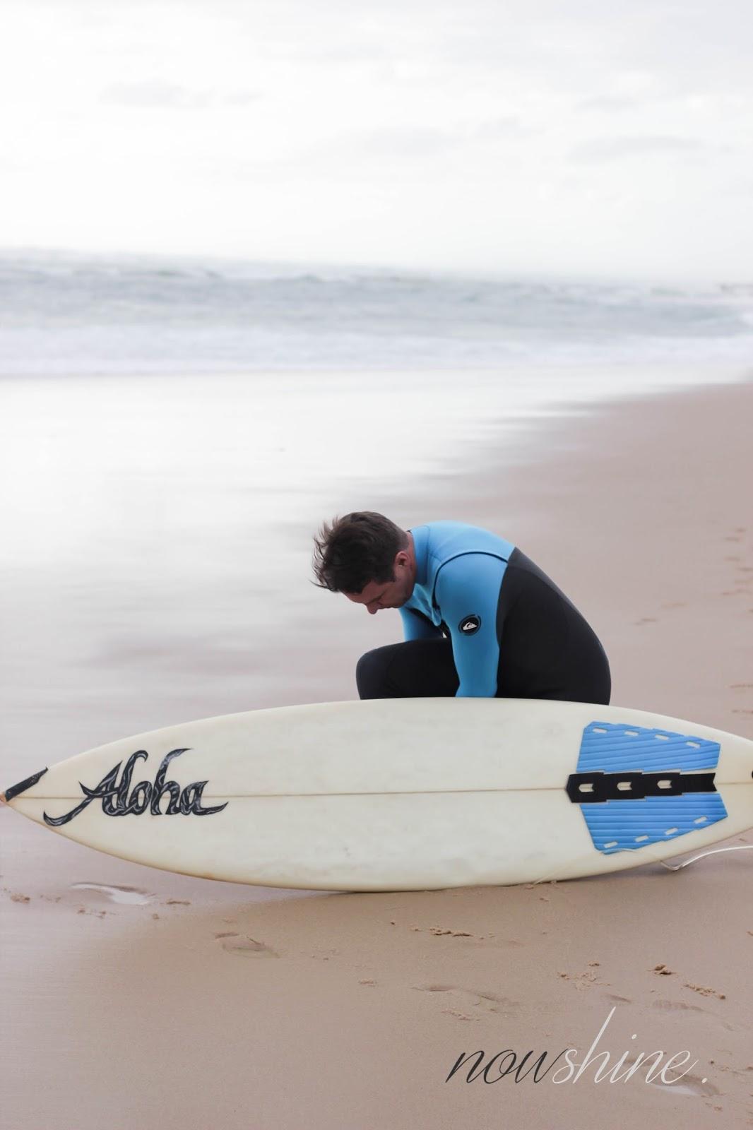 Surfer Strand Hossegor