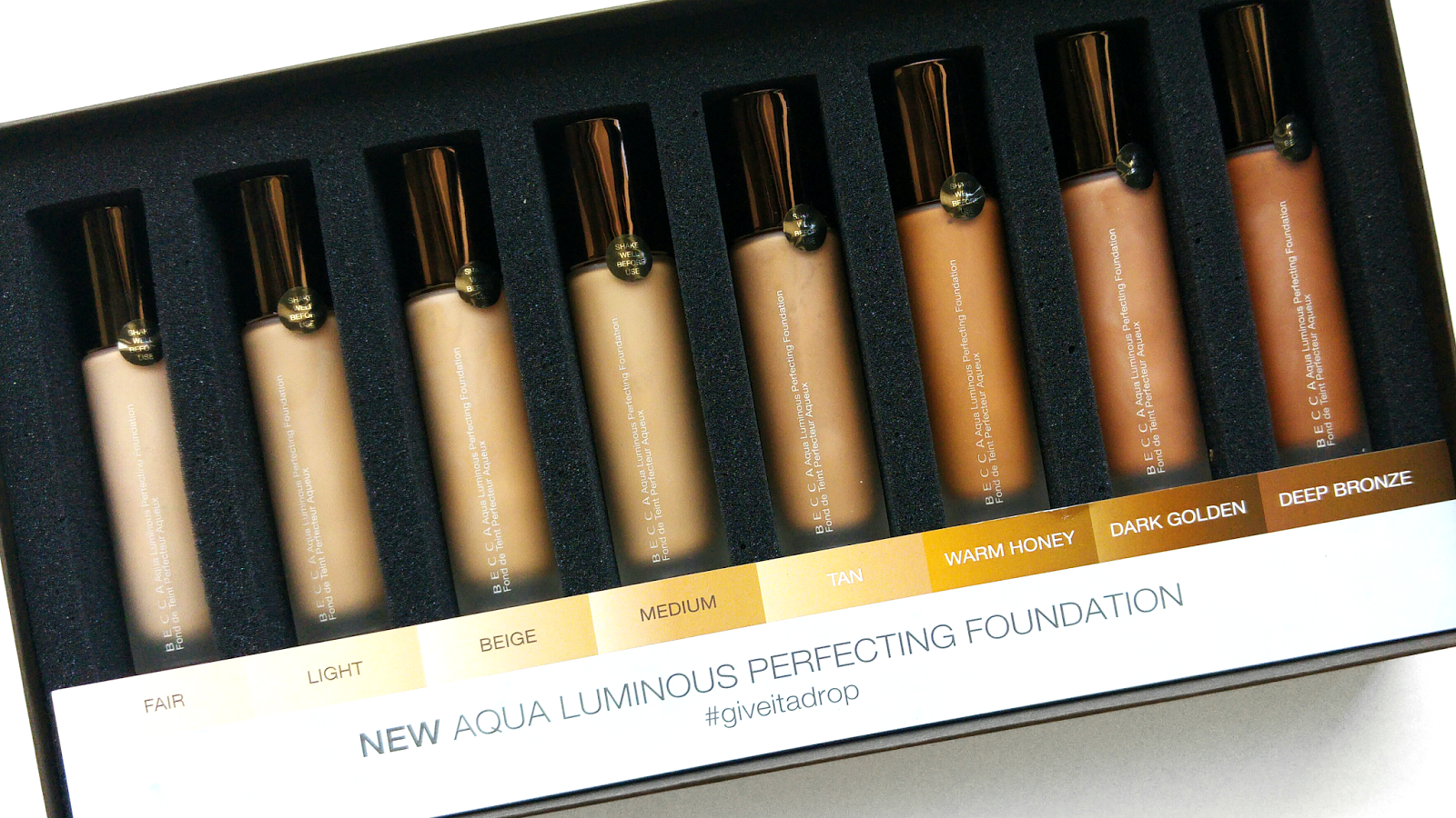 Why I Love Becca Cosmetics Aqua Luminous Perfecting Foundation, Becca Cosmetics Aqua Luminous Perfecting Foundation Review, Becca Cosmetics Aqua Luminous Perfecting Foundation Swatches