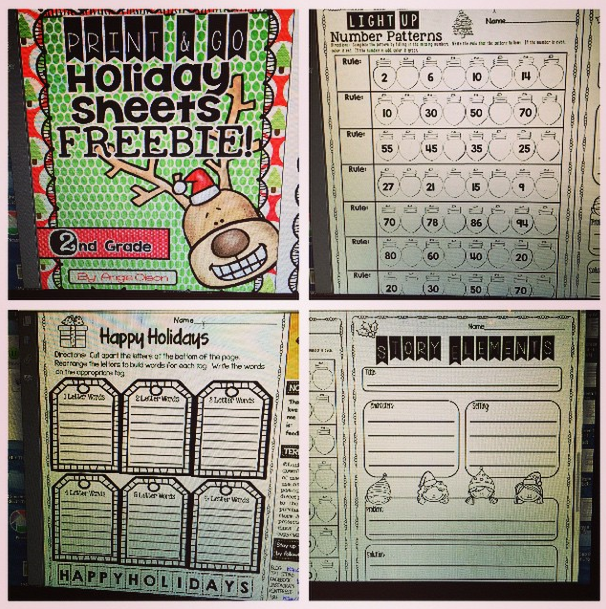 http://www.teacherspayteachers.com/Product/Print-Go-Holiday-Sheets-FREEBIE-1595074