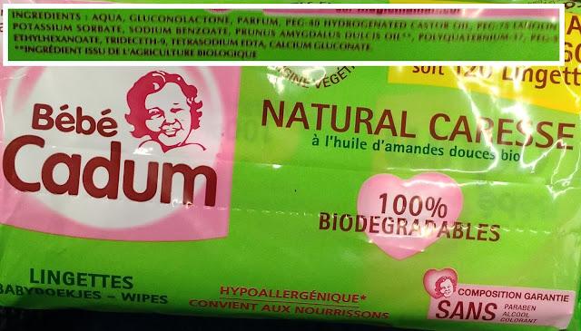 lingettes cadum - unpeuplusgreen