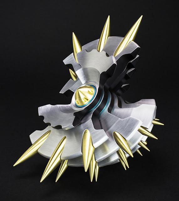 Digital fabrication, industrial design, CNC art, metal art, Abstract sculpture
