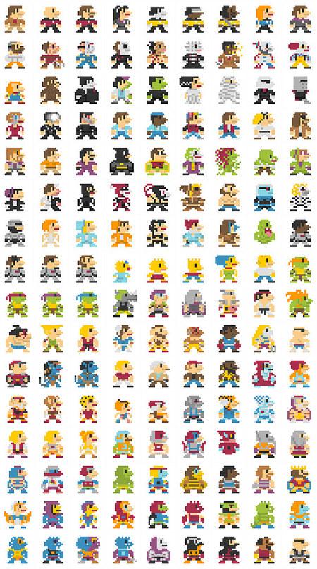Pacroid Amazing 696 Mario Pixel Art