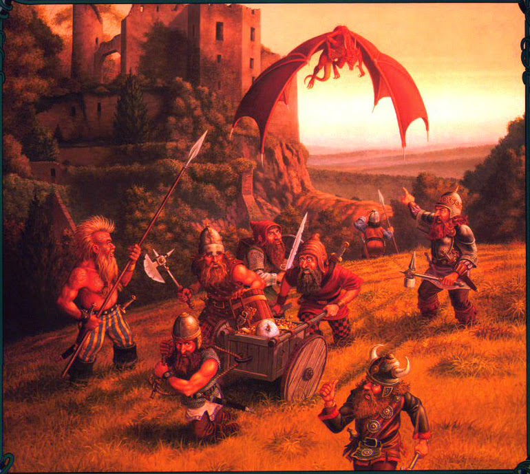 Dungeons Amp Dragons Past Present And Future Friday Art